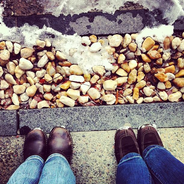 pieds, au sol, marche, promenade, balade, parc maisonneuve, montréal,
